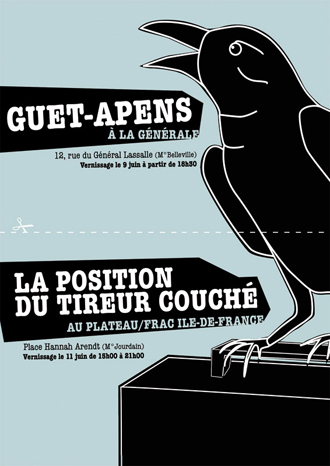 "Vernissage de l'exposition collective ""Guet-Apens"""